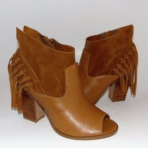 Marc Fisher Shoes - MARC FISHER 'Onita' Fringed Festival Bootie